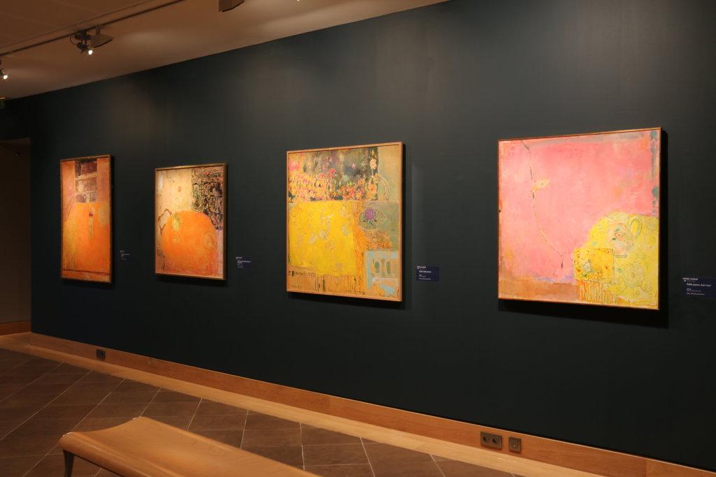 Vue de l'exposition Pierre Lesieur - Intérieurs - Musée Bonnard, Le Cannet (26)