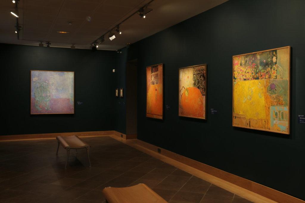 Vue de l'exposition Pierre Lesieur - Intérieurs - Musée Bonnard, Le Cannet (27)