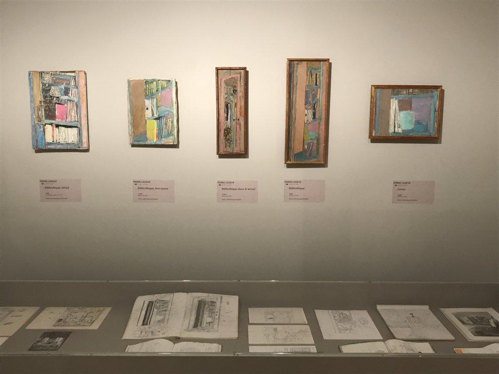 Vue de l'exposition Pierre Lesieur - Intérieurs - Musée Bonnard, Le Cannet (3)