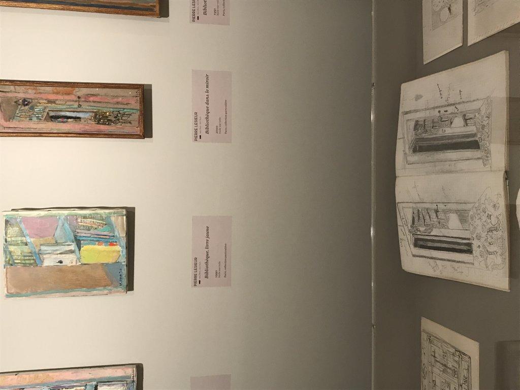 Vue de l'exposition Pierre Lesieur - Intérieurs - Musée Bonnard, Le Cannet (4)
