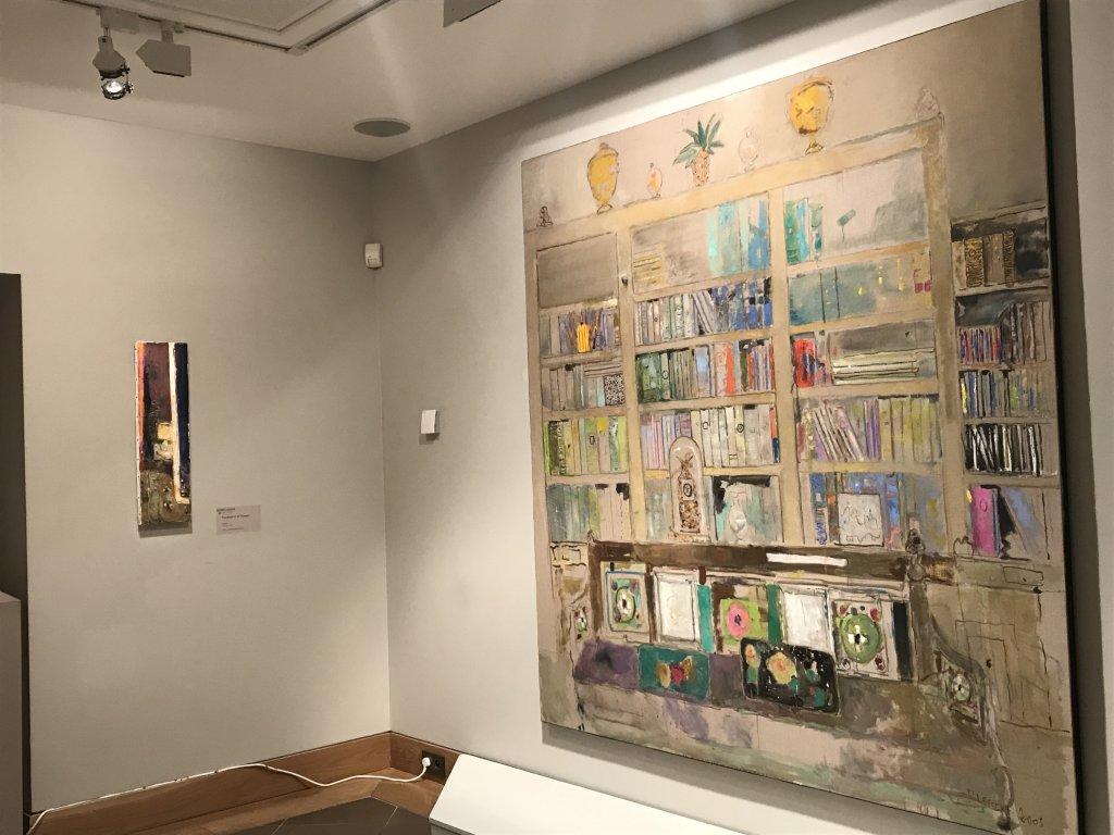 Vue de l'exposition Pierre Lesieur - Intérieurs - Musée Bonnard, Le Cannet (5)