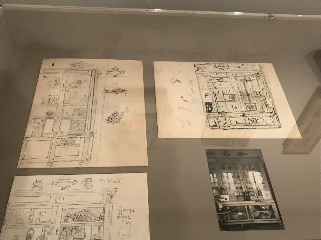 Vue de l'exposition Pierre Lesieur - Intérieurs - Musée Bonnard, Le Cannet (6)