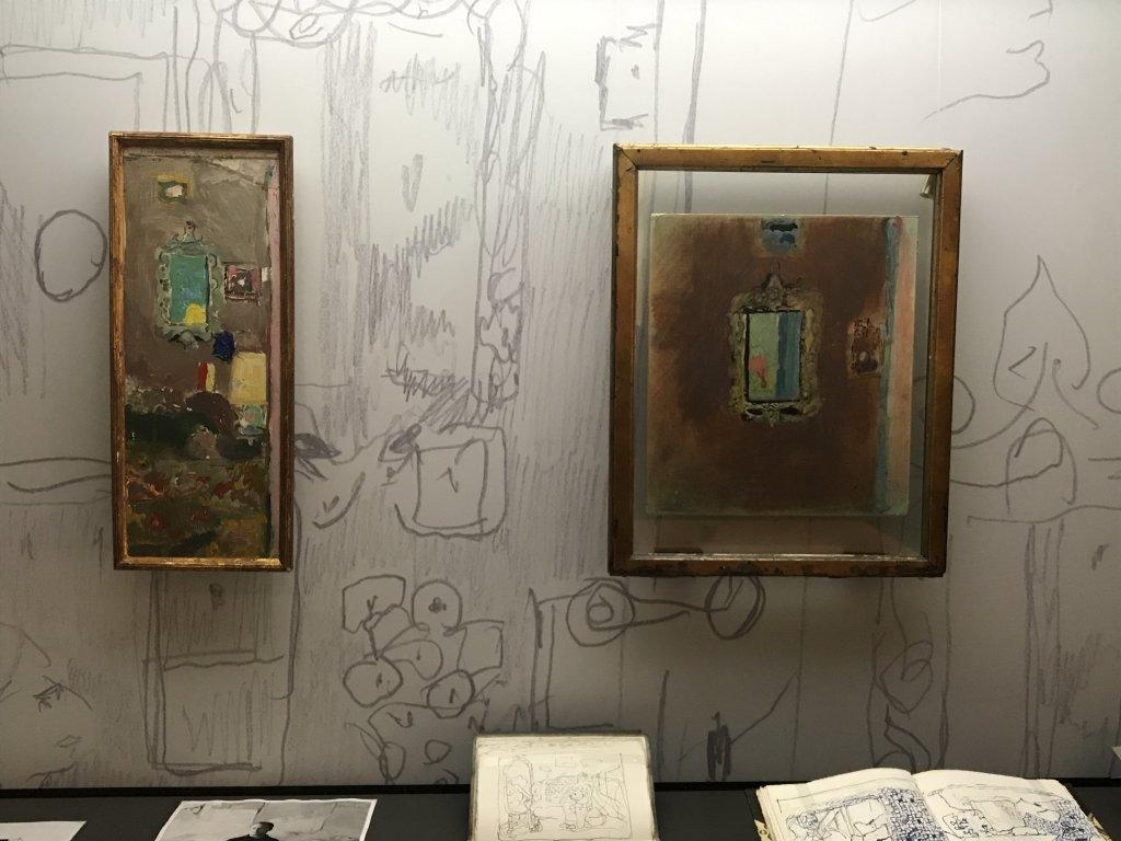 Vue de l'exposition Pierre Lesieur - Intérieurs - Musée Bonnard, Le Cannet (9)