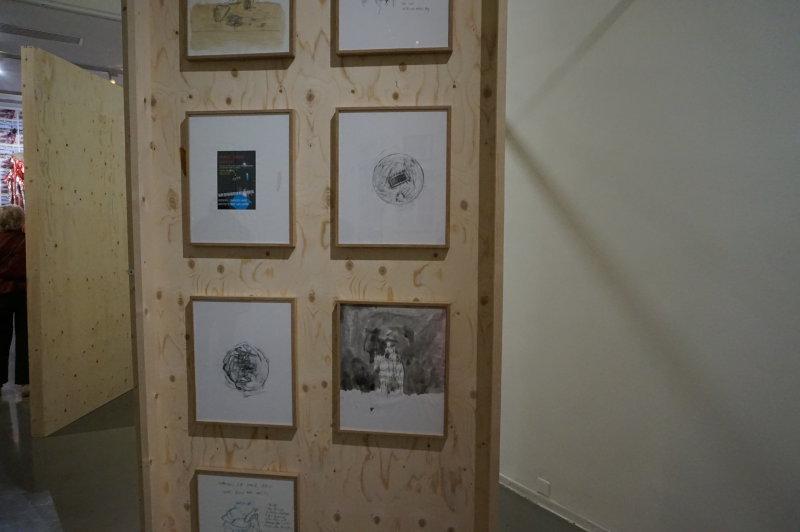 Vue de l'exposition Urban Riders au Musée d'Art Moderne