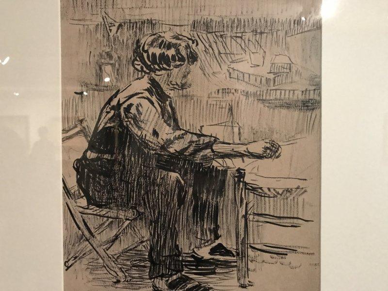 Vue de l'exposition Van Dongen et le Bateau-Lavoir - Musée de Montmartre (13)