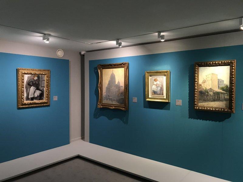 Vue de l'exposition Van Dongen et le Bateau-Lavoir - Musée de Montmartre (3)