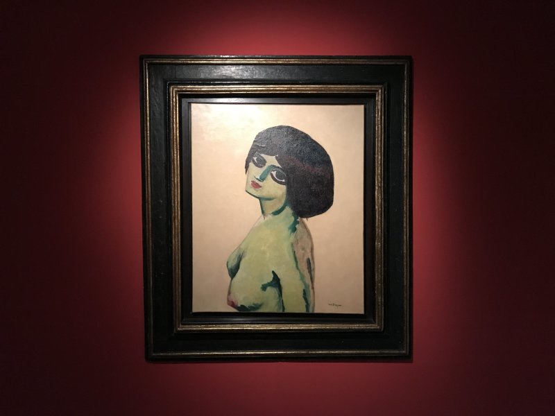 Vue de l'exposition Van Dongen et le Bateau-Lavoir - Musée de Montmartre (31)