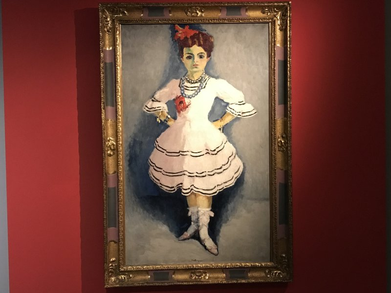 Vue de l'exposition Van Dongen et le Bateau-Lavoir - Musée de Montmartre (34)