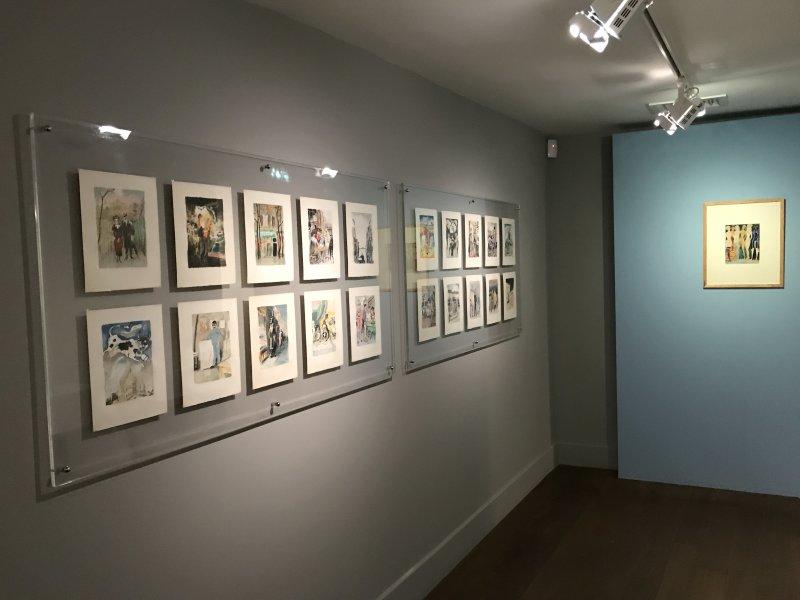 Vue de l'exposition Van Dongen et le Bateau-Lavoir - Musée de Montmartre (39)