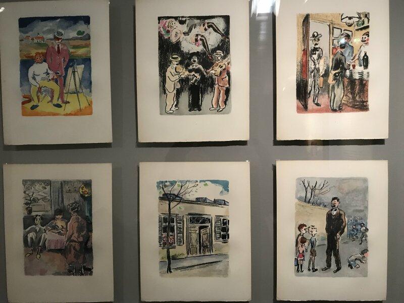 Vue de l'exposition Van Dongen et le Bateau-Lavoir - Musée de Montmartre (41)