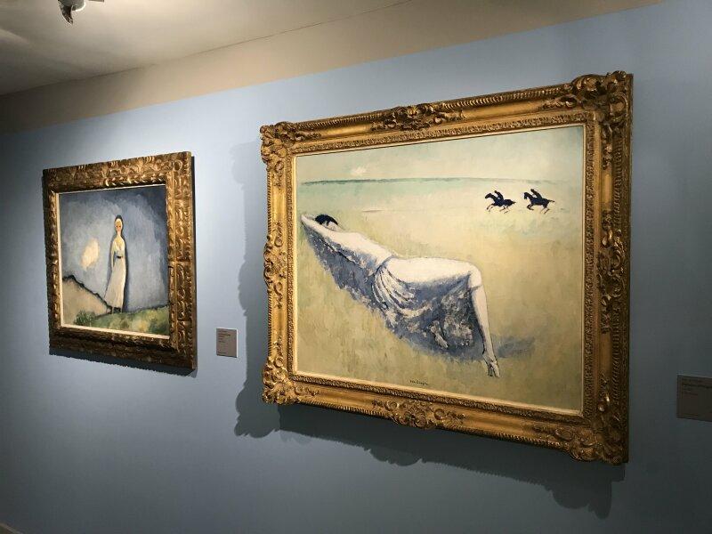 Vue de l'exposition Van Dongen et le Bateau-Lavoir - Musée de Montmartre (43)