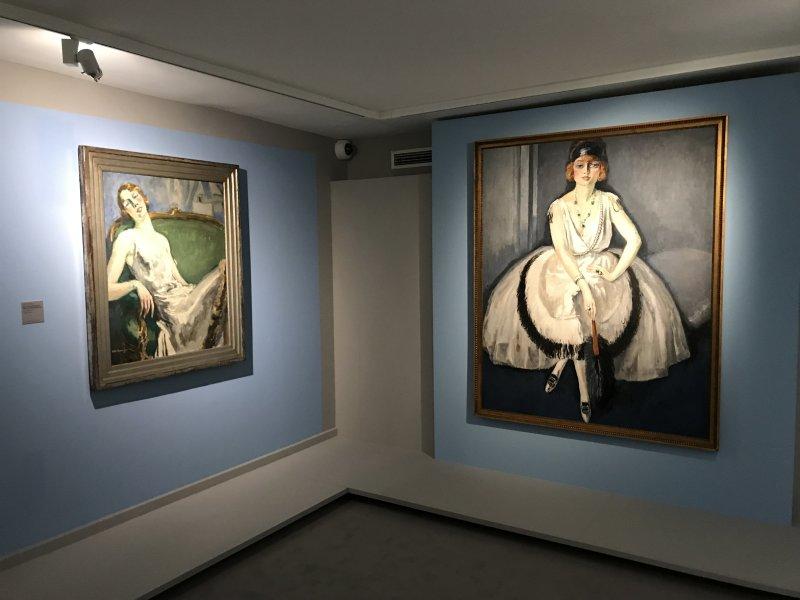 Vue de l'exposition Van Dongen et le Bateau-Lavoir - Musée de Montmartre (44)