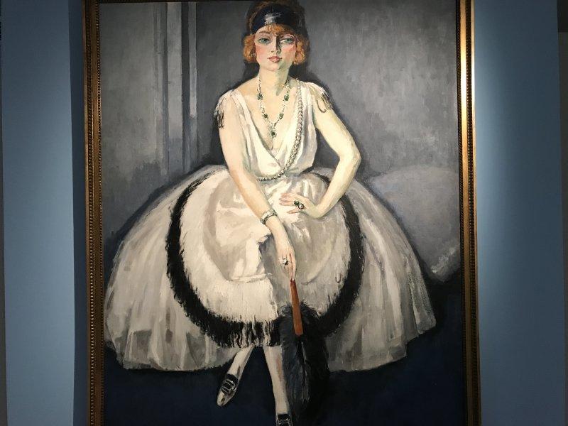 Vue de l'exposition Van Dongen et le Bateau-Lavoir - Musée de Montmartre (45)