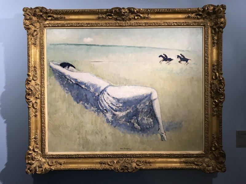 Vue de l'exposition Van Dongen et le Bateau-Lavoir - Musée de Montmartre (51)