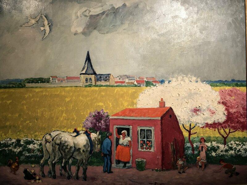 Vue de l'exposition Van Dongen et le Bateau-Lavoir - Musée de Montmartre (56)
