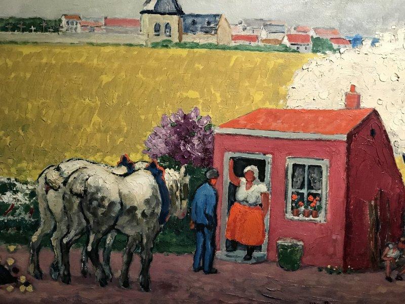 Vue de l'exposition Van Dongen et le Bateau-Lavoir - Musée de Montmartre (57)