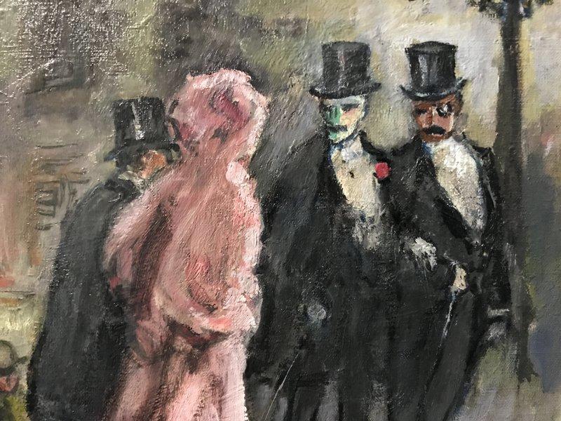 Vue de l'exposition Van Dongen et le Bateau-Lavoir - Musée de Montmartre (6)