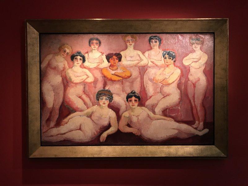 Vue de l'exposition Van Dongen et le Bateau-Lavoir - Musée de Montmartre (60)