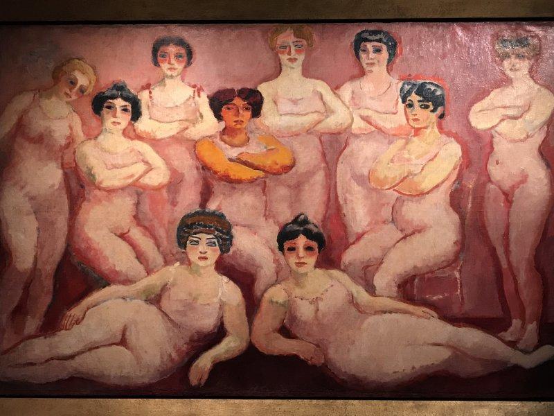 Vue de l'exposition Van Dongen et le Bateau-Lavoir - Musée de Montmartre (61)