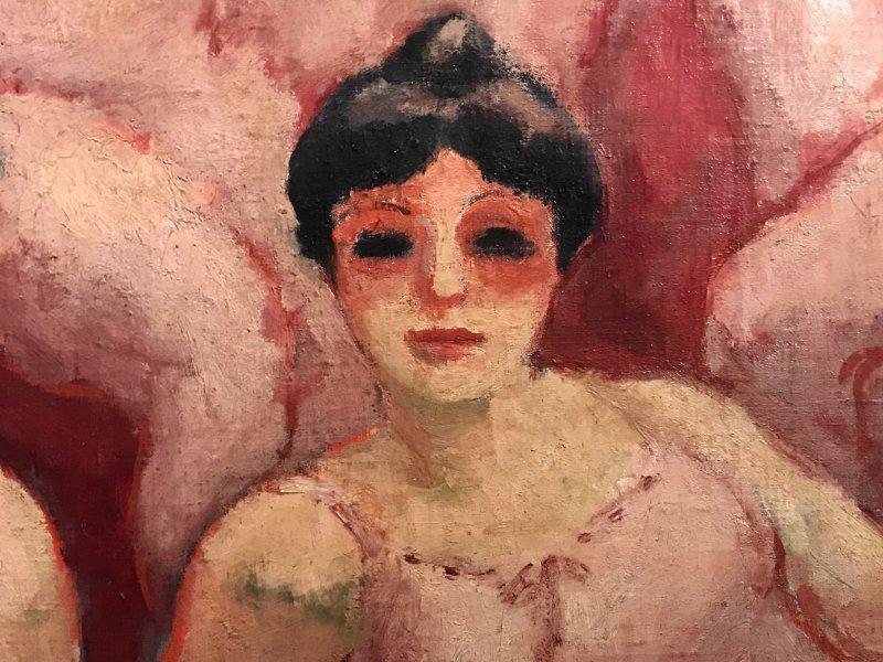 Vue de l'exposition Van Dongen et le Bateau-Lavoir - Musée de Montmartre (67)