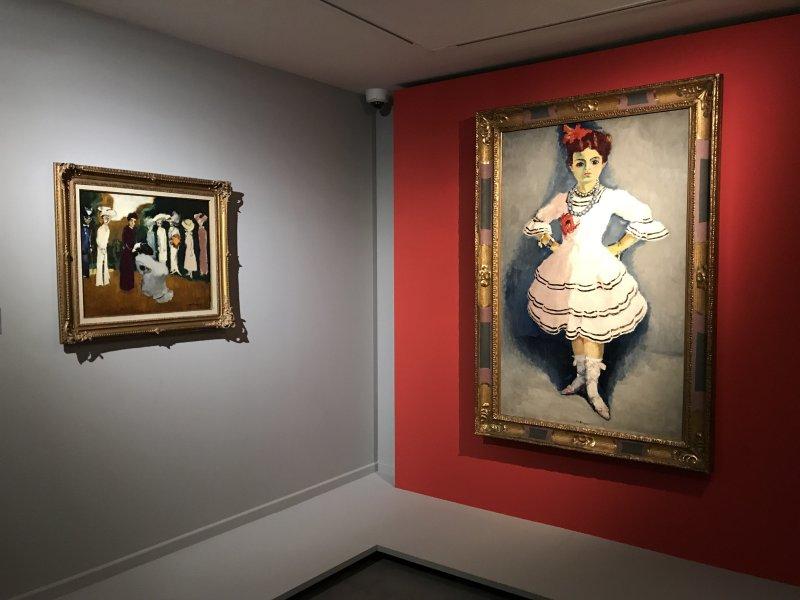 Vue de l'exposition Van Dongen et le Bateau-Lavoir - Musée de Montmartre (68)