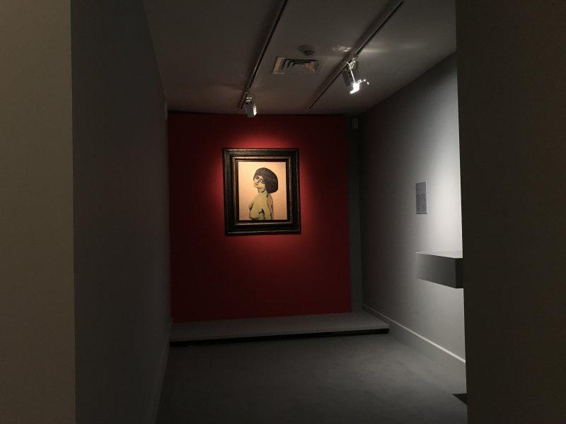 Vue de l'exposition Van Dongen et le Bateau-Lavoir - Musée de Montmartre (69)