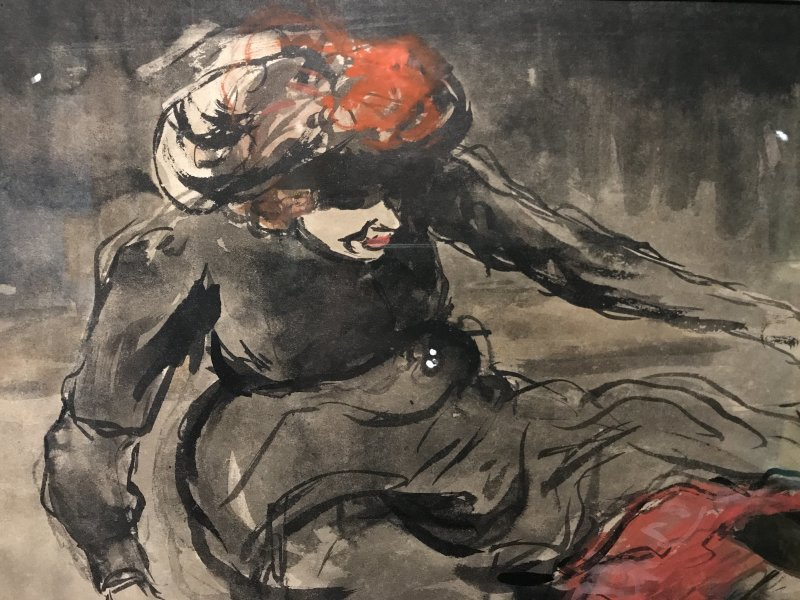 Vue de l'exposition Van Dongen et le Bateau-Lavoir - Musée de Montmartre (9)