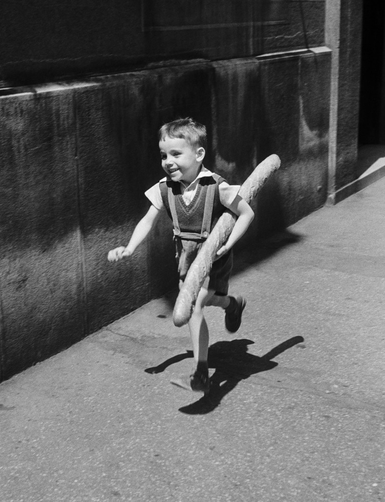 WILLY RONIS, Le petit Parisien, 1952