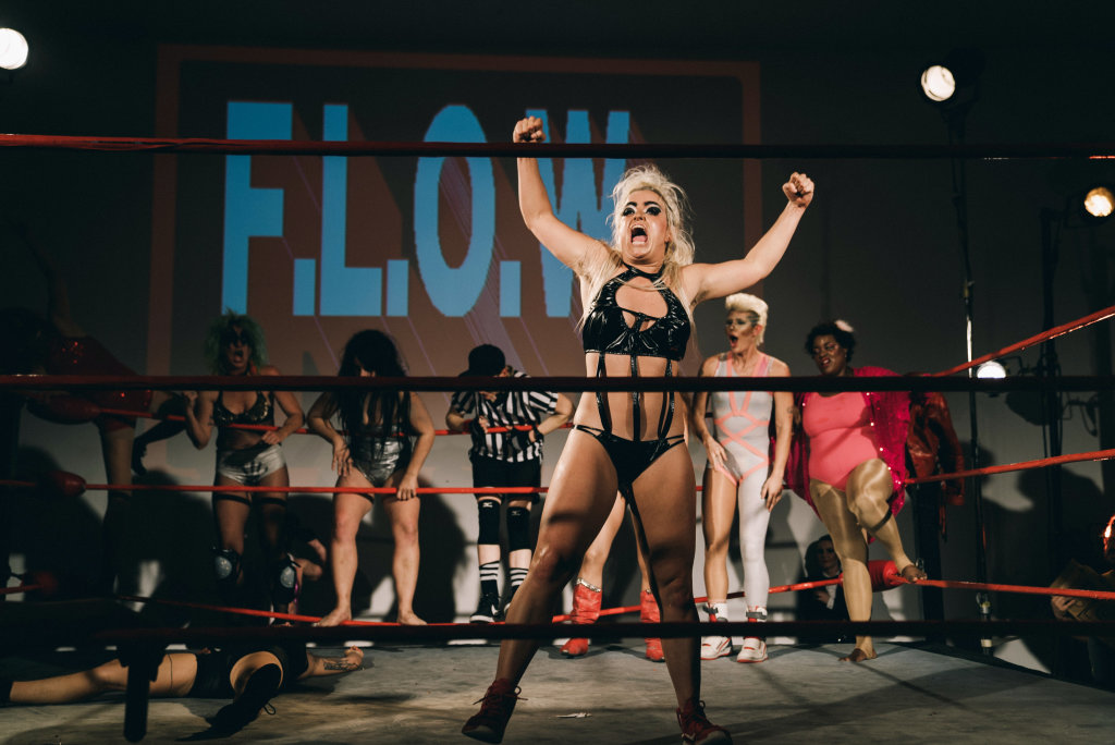 "Flow, Future Ladies of Wrestling ""Match of The Multiverse"", Human Resources, Los Angeles, 2018"