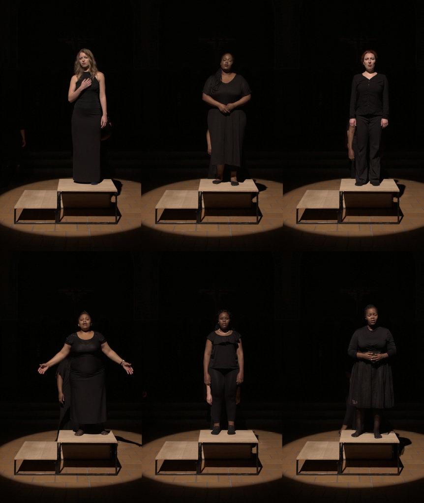 Gabrielle Goliath, ELEGY / Hannah Cornelius, 2017, performance (St. Johannes Church, Spielart Festival, Munich), Vidéo, 1 heure