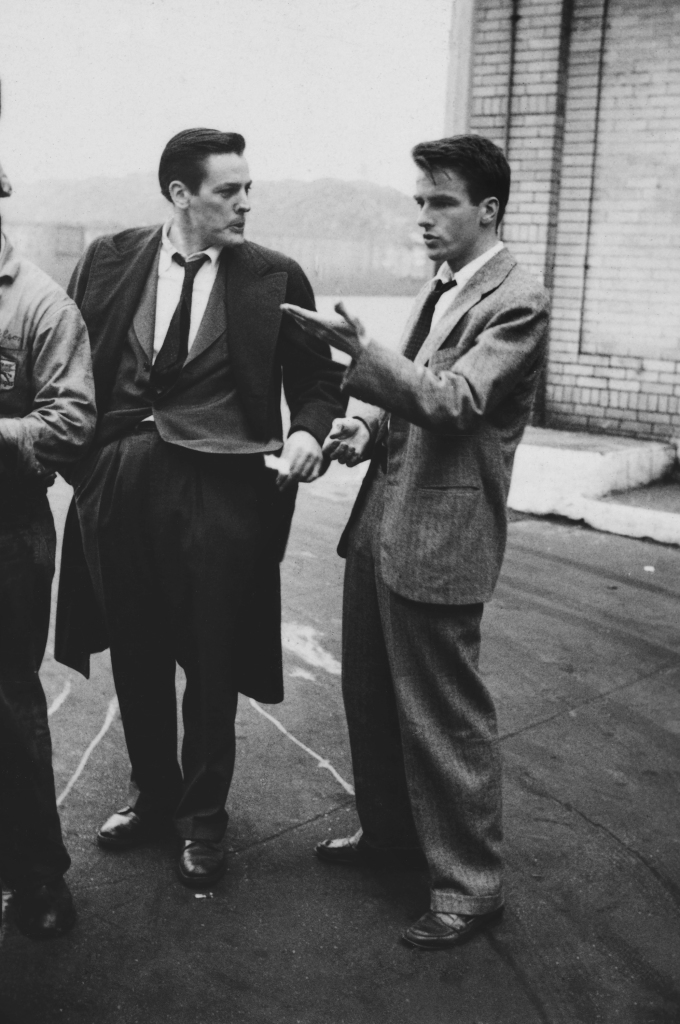 08. Kevin McCarthy, Montgomery Clift - Glamour Boy in Baggy Pants, 1949.