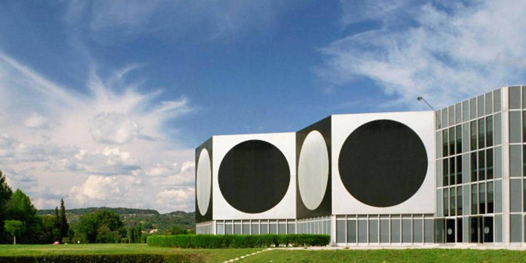 Vue de la Fondation Vasarely
