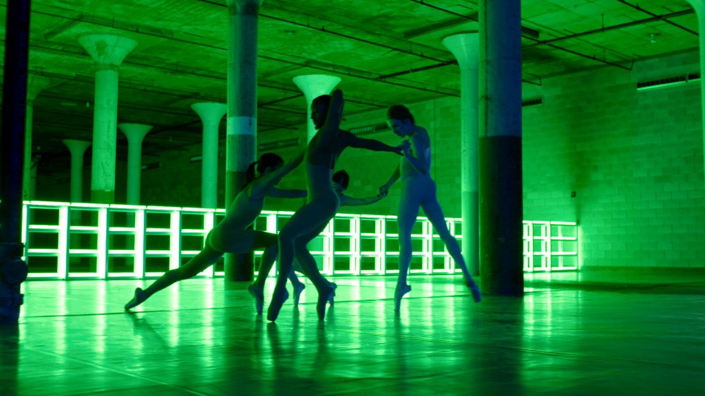 Dia Art Foundation Beacon, piece: Dublove, Cecilia Bengolea, François Chaignaud, Erika Miyauchi, Alex Mugler. Mai 2017