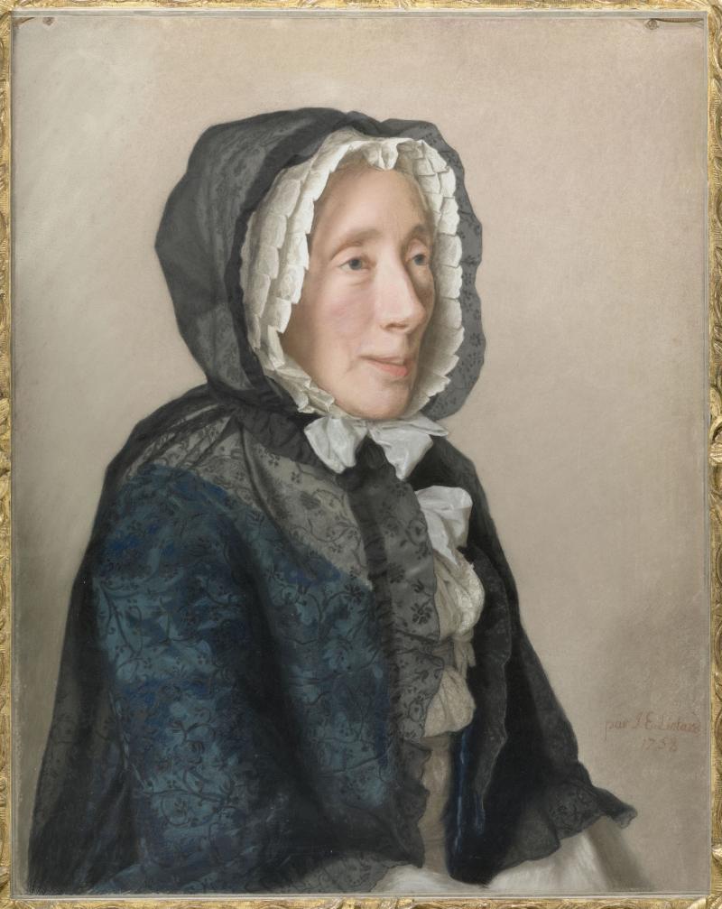 Liotard Jean-Etienne (1702-1789). Paris, musée du Louvre, D.A.G.. RF38992-recto.
