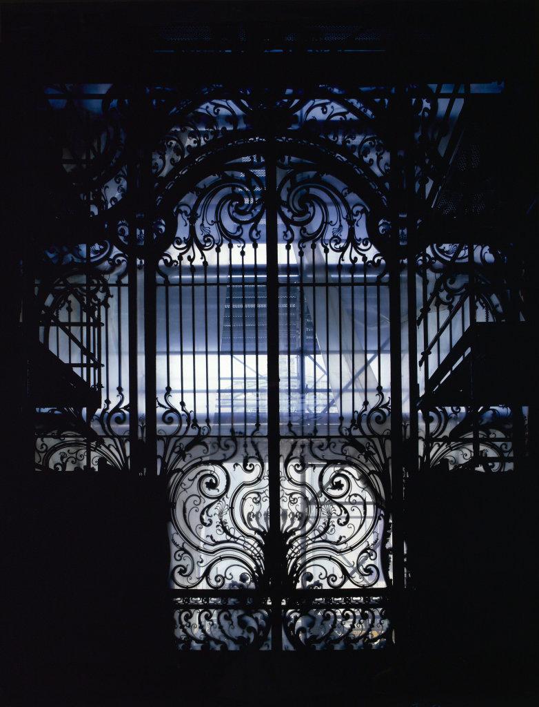 Stéphane Couturier, Petit Palais n°1 – Paris 8, 2004-2008, tirage argentique. Représenté par la Galerie Particulière. Don de monsieur Nicolas Floquet.