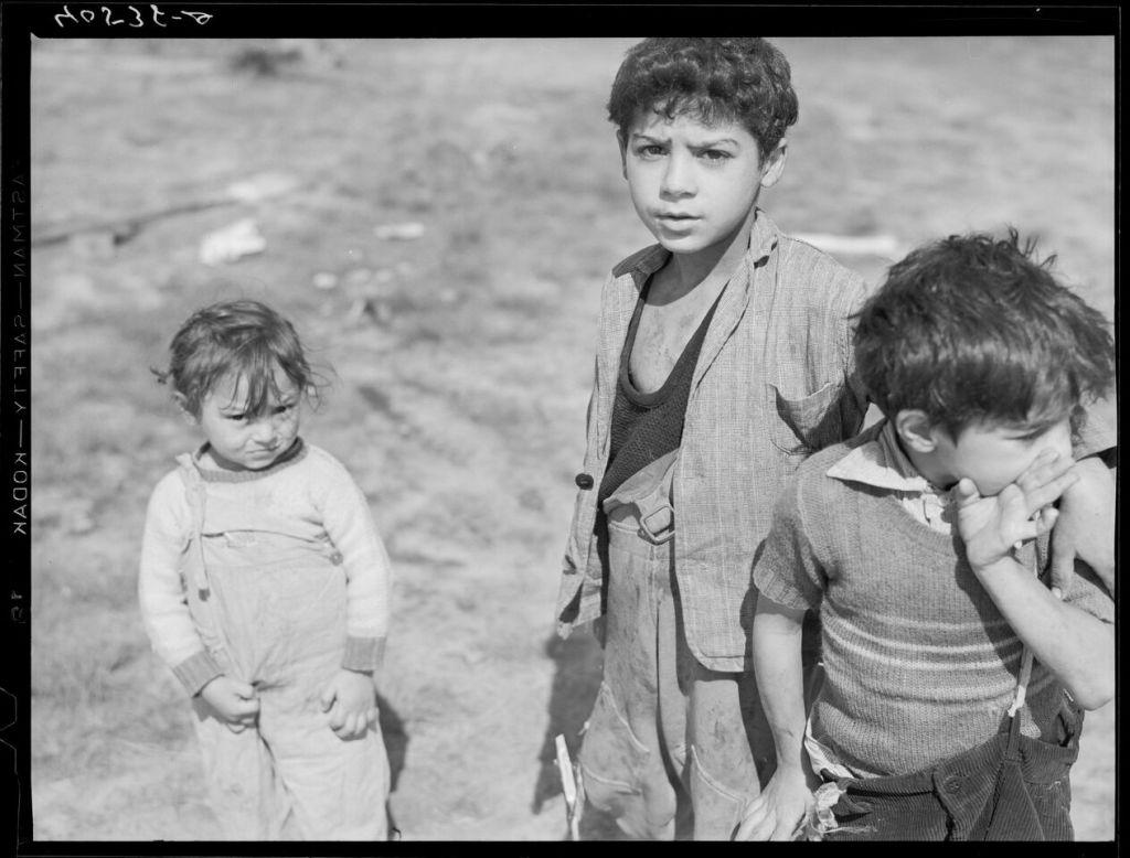 Jack Delano, Un groupe d'enfants tsiganes, Etats-Unis, Maryland, mai 1940