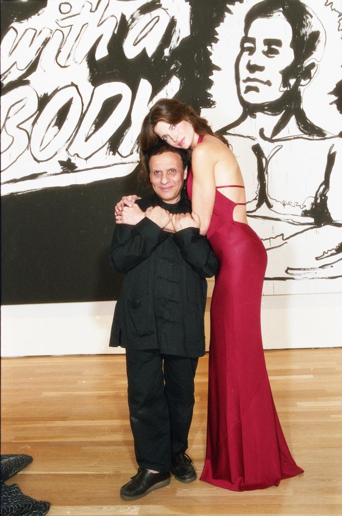Willy Rizzo, Azzedine Alaia et Stephanie Seymour, New York Moma, 2001