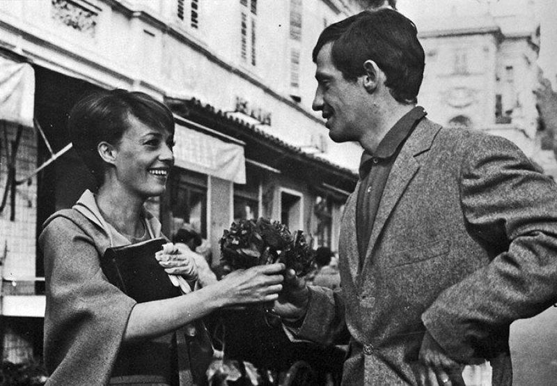 Jean-Jacques Belmondo et Jeanne Moreau