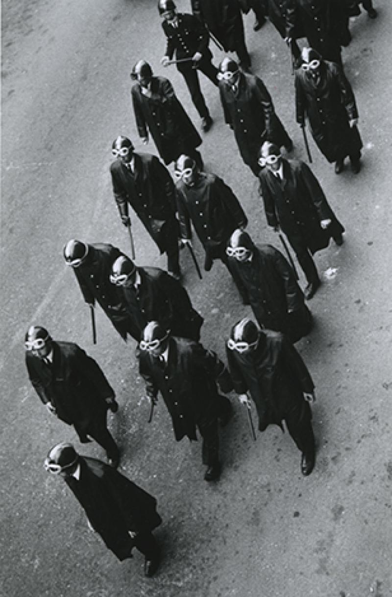 Bernard PERRINE, Police a Paris, 3 mai 1968