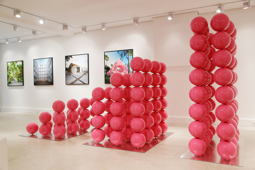 Installation à la galerie MR 80