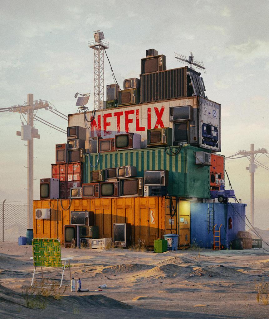Mike Winkelmann, Netflix 2087, Fallen Giants