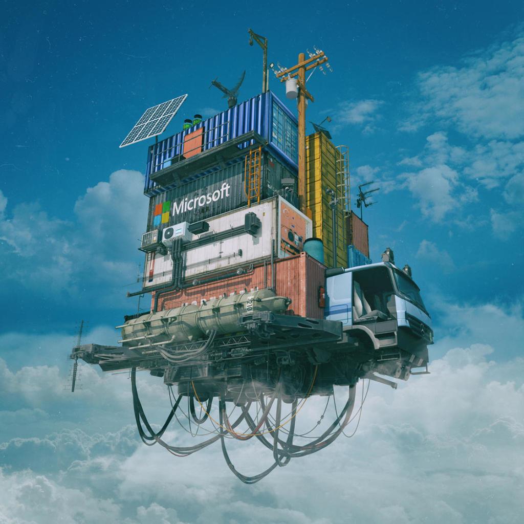 Mike Winkelmann, Microsoft Cloud 2094, Fallen Giants