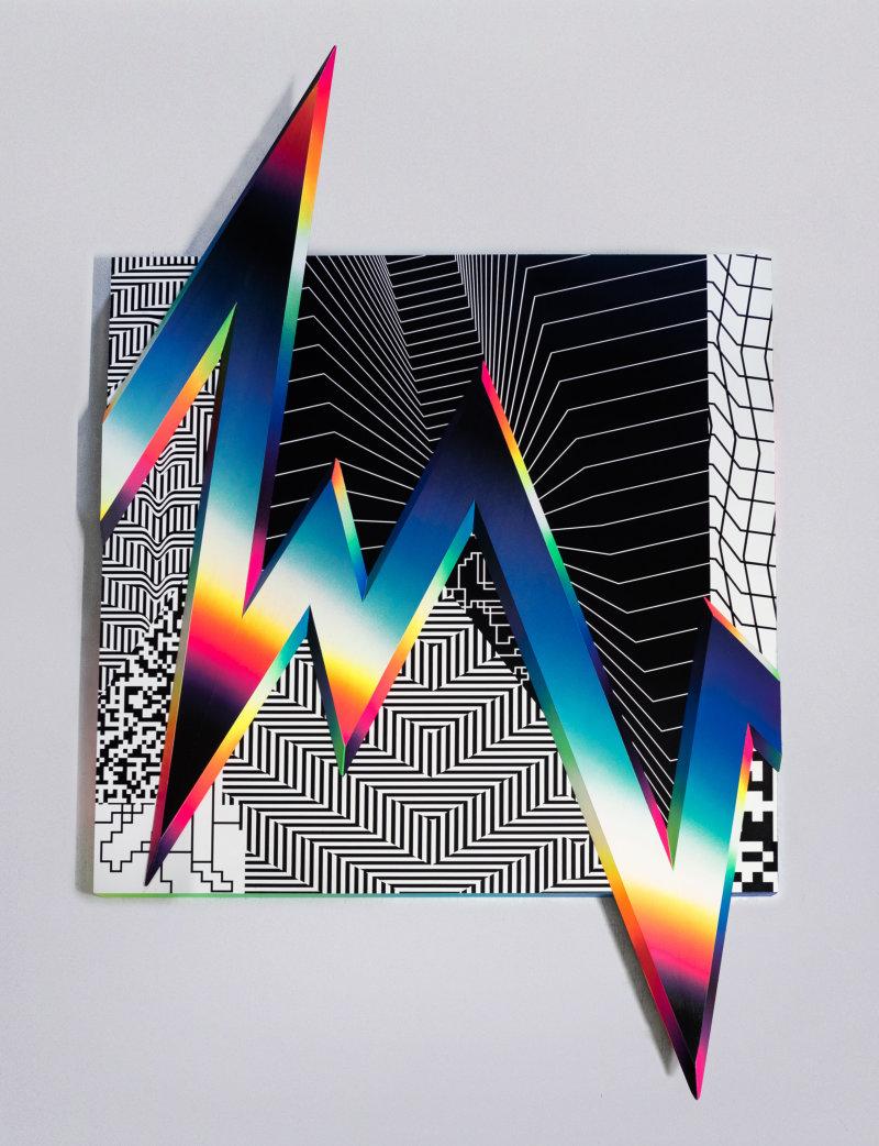 Felipe Pantone, OPICHROMIE37- dimensional - courtesy Danysz gallery