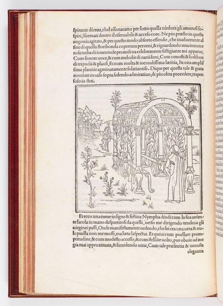 Francesco Colonna, Hypnerotomachia Poliphili [Le songe de Poliphile], Venise 1499, Fondation Martin Bodmer