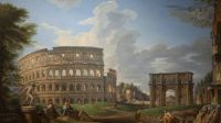 Giovanni Paolo Panini, Vue du colisee copy Musee Thomas Henry Cherbourg-en-cotentin