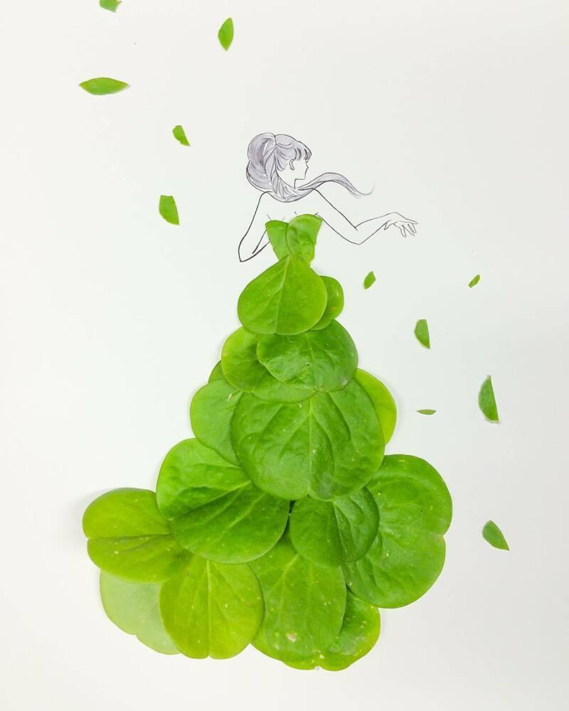 Hanakotoba green