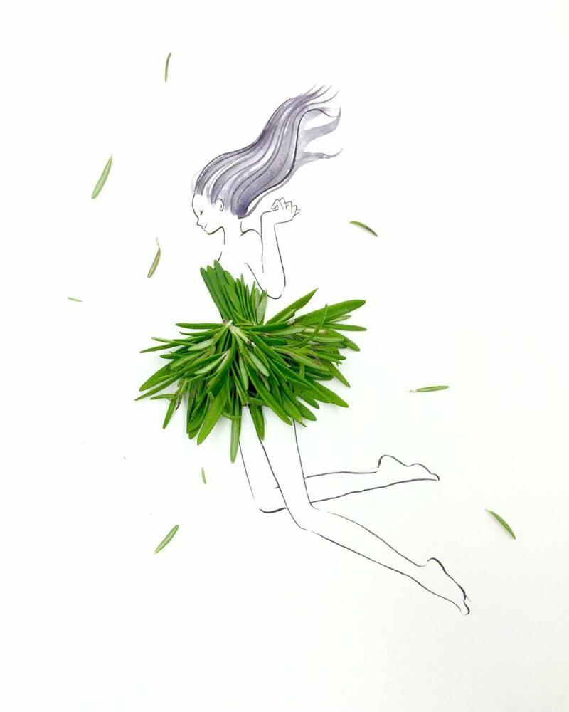 Hanakotoba pin