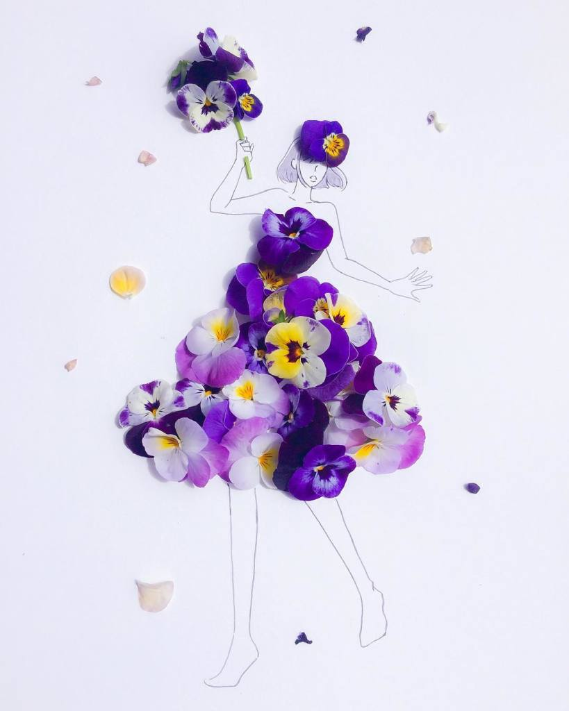 Hanakotoba violet