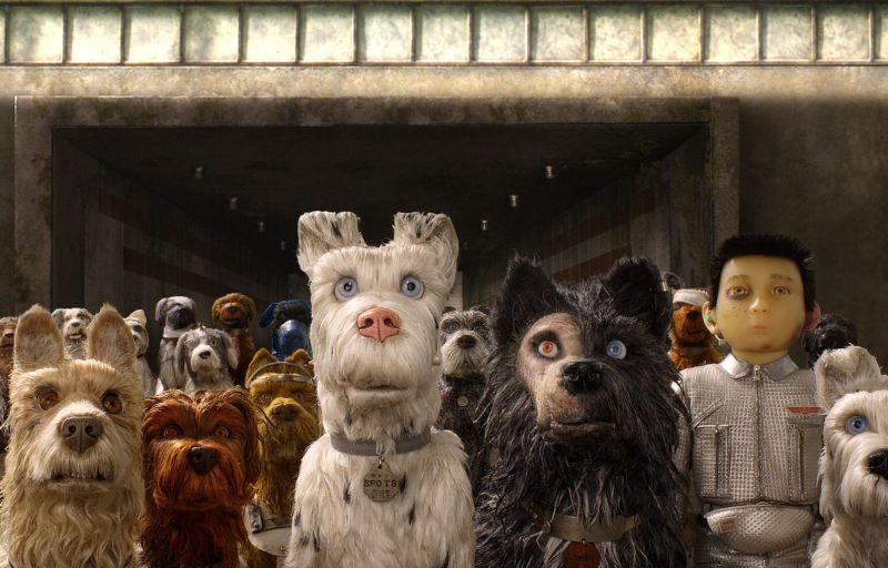 Wes Anderson, Isle of dogs, 2018