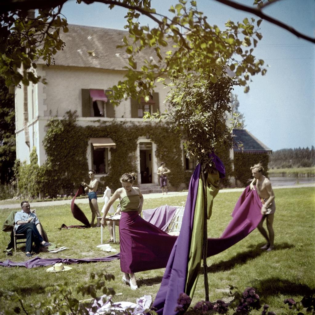 Jacques Fath chez Lui Maisons Laffitte, 1954